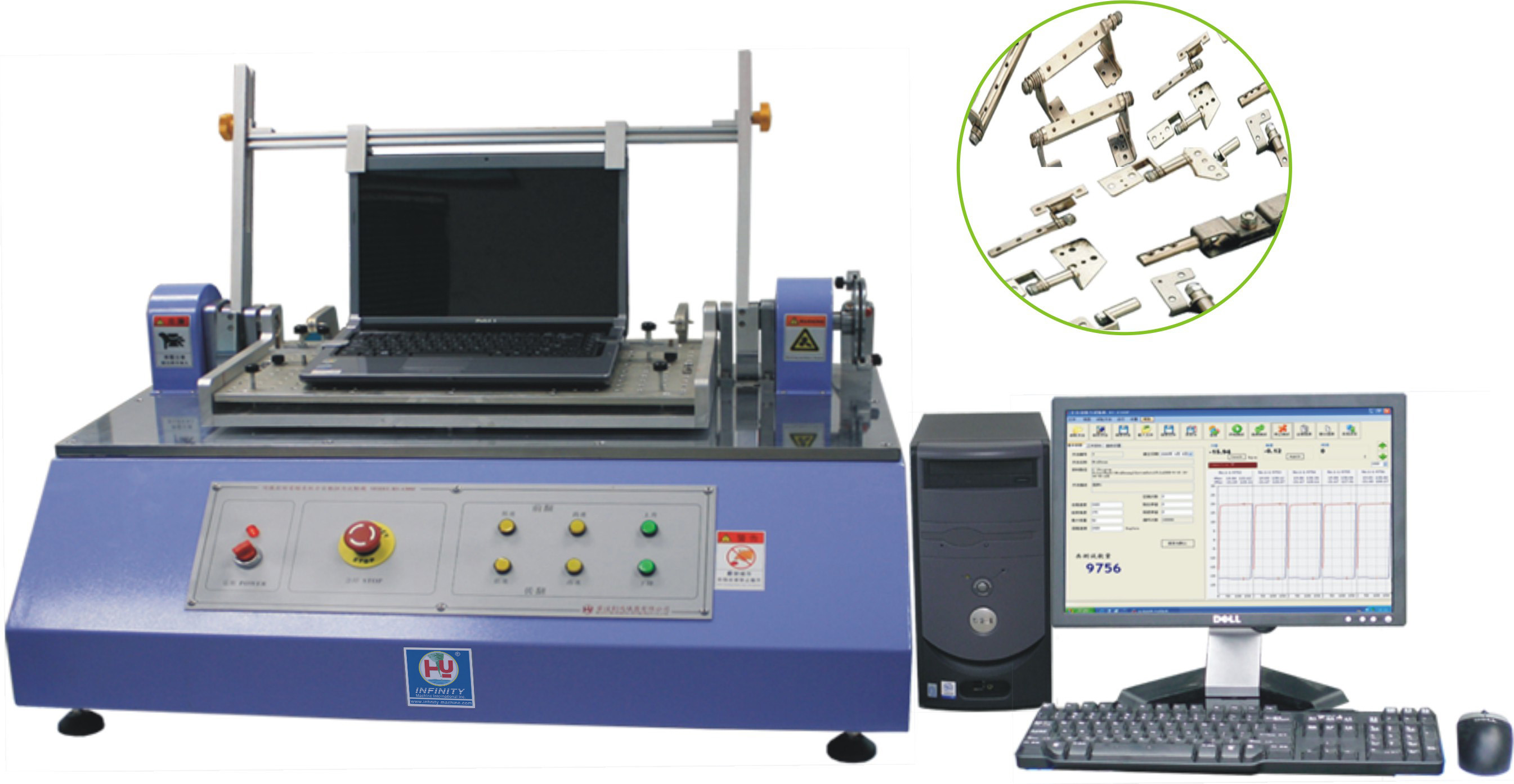 Servo Control Compressive Strength Test Machine Automatic Torsion Tester For Note - Book