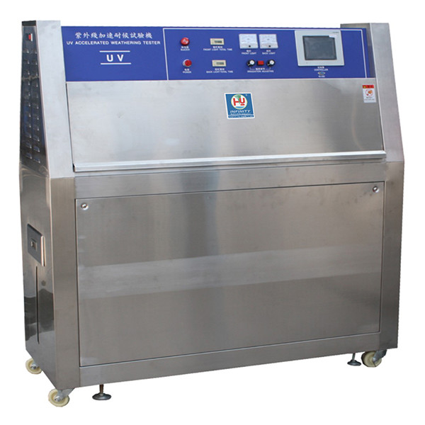 UV Lamps Plastic Testing Machines / UV Accelerated Weathering Tester ISO 4892-3