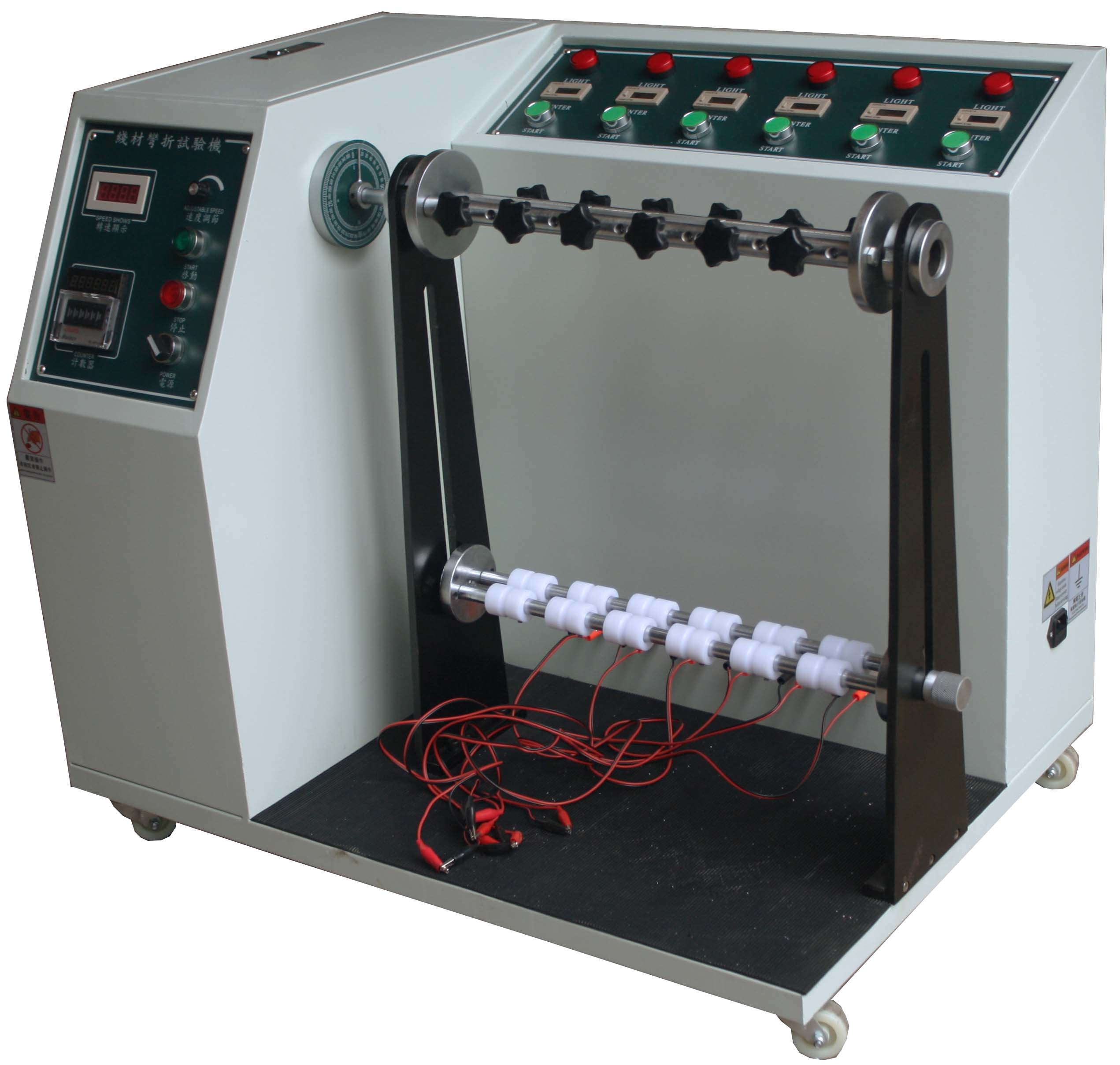 Automatic Count Cable Testing Machine Bending Endurance Test Adjustable