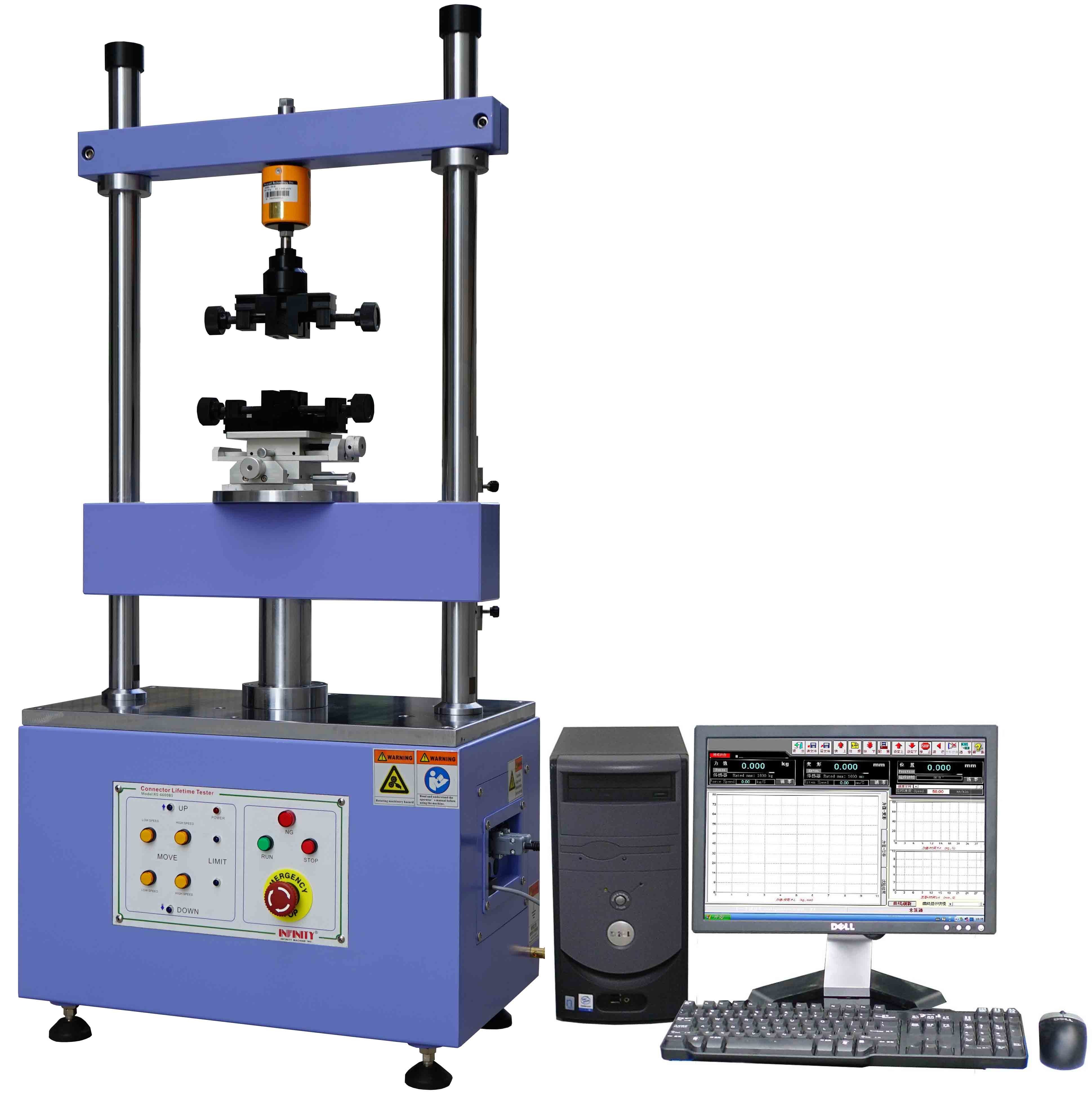 Auto Electronic Product Tester Machine for Connectors Inserting and Extracting Testing