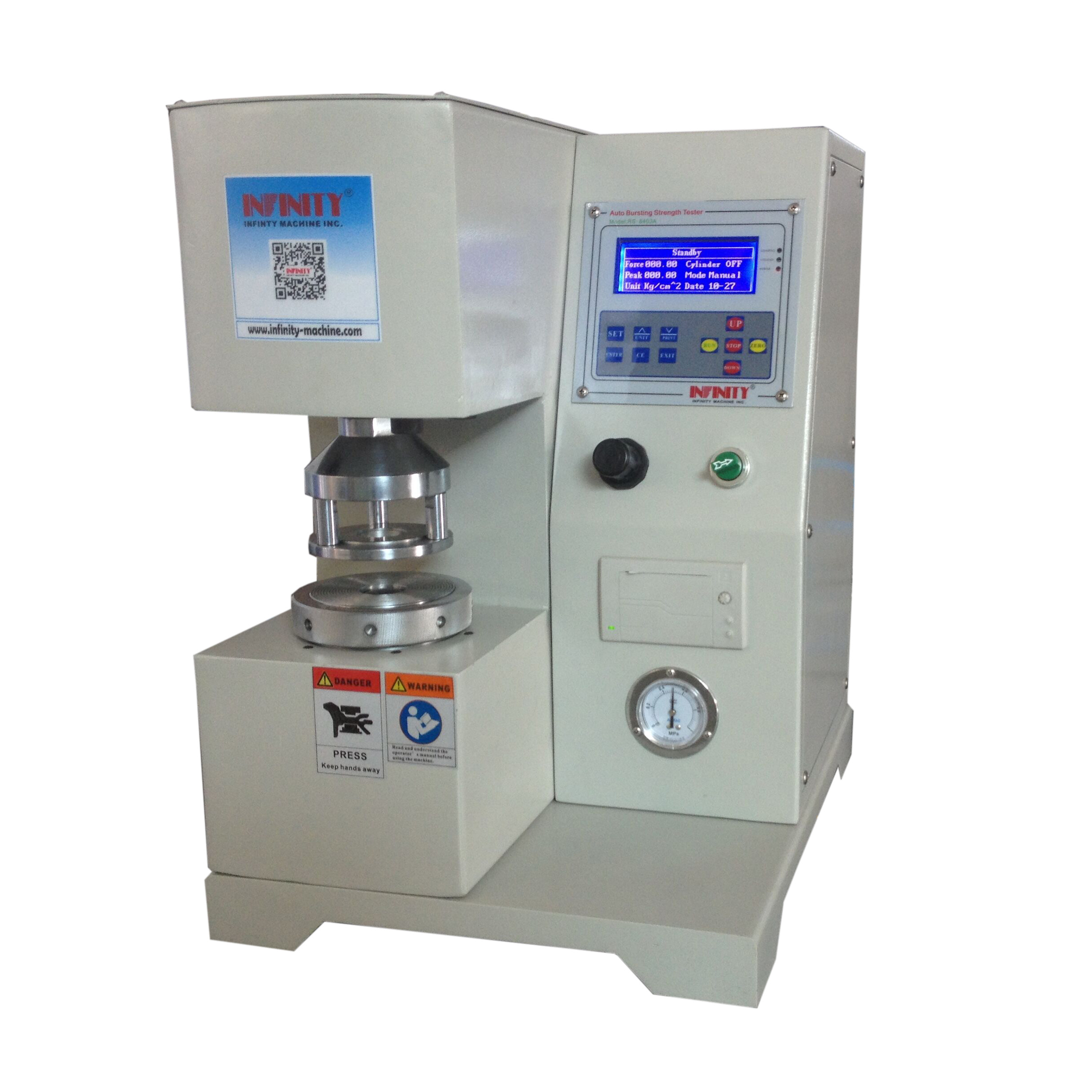 Digital Automatic Compressive Strength Testing Machine FOR Cardboard Paper