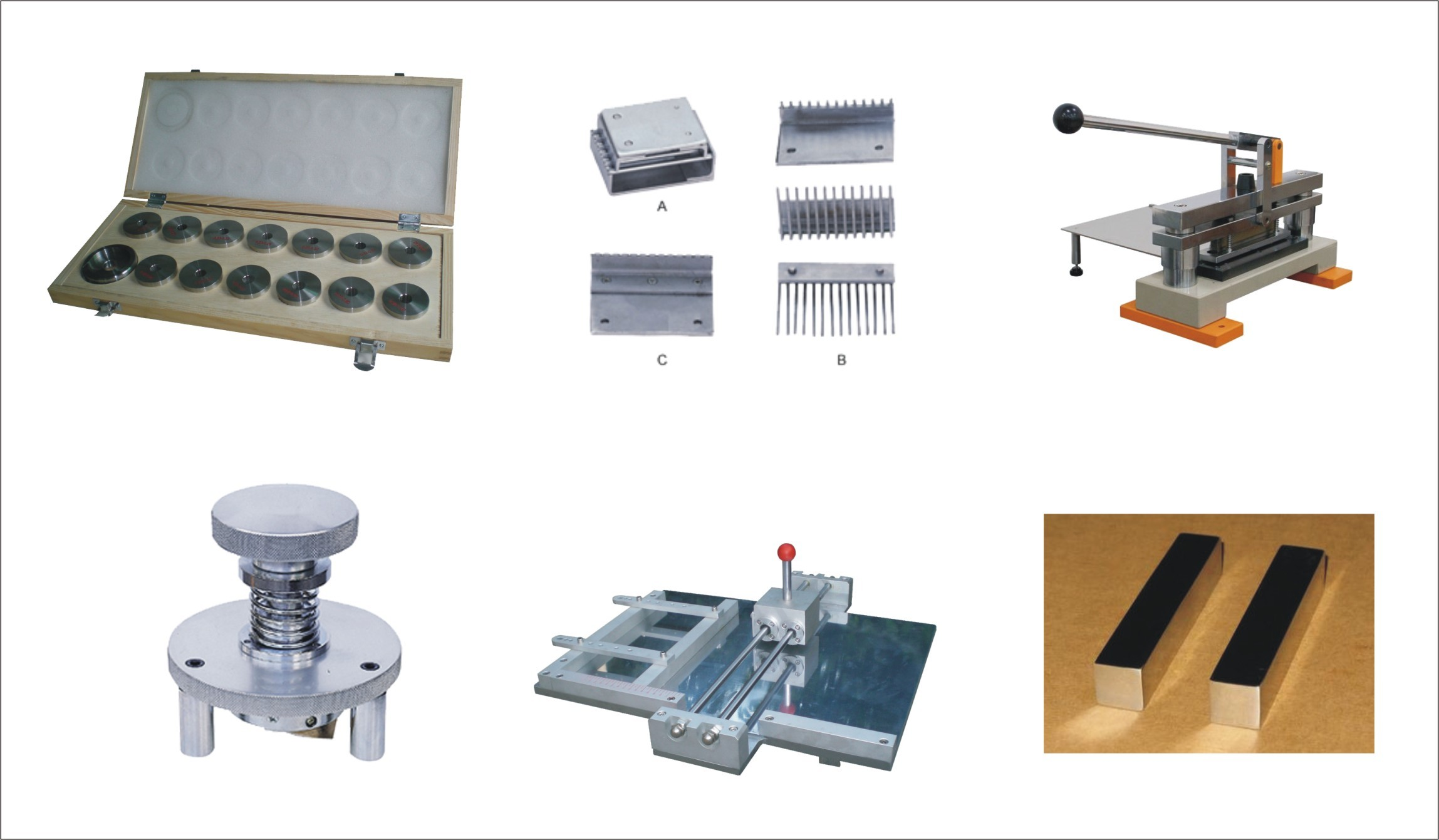 Ring Crush Compression Test Equipment For Corrugated / Leather Paper