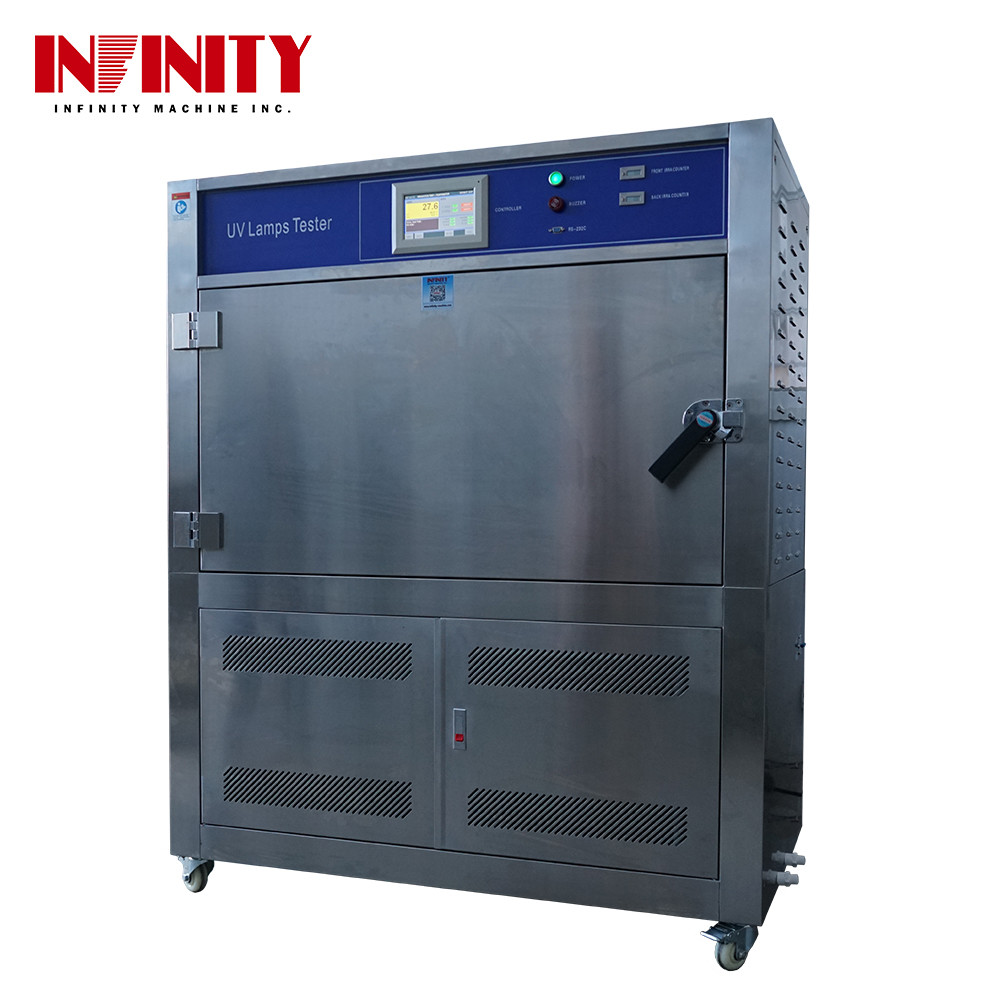 100L UV Lamp Accelerated Aging Test Machine for Temperature Shining Strength Humidity
