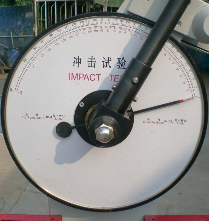 Metal Charpy Impact Test Equipment Impact Resistance ISO83-76 / ISO148-83